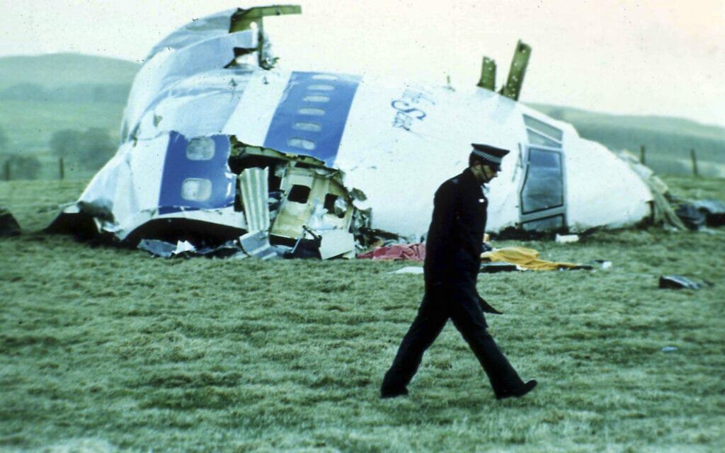 מטוס הבואינג 747 של חברת פן אם שהתרסק בלוקרבי, סקוטלנד, ב-21 בדצמבר 1988 (צילום: AP Photo)