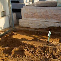 חלקת הילדים בבית הקברות באשקלון; צילום ארכיון – אין קשר לדיווח (צילום: פלאש 90)