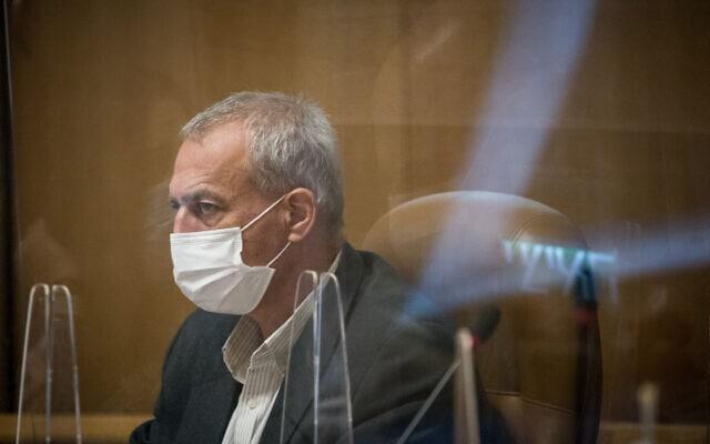 ממונה הקורונה, פרופסור נחמן אש, בעיריית ירושלים, 22 בנובמבר 2020 (צילום: יונתן זינדל, פלאש 90)