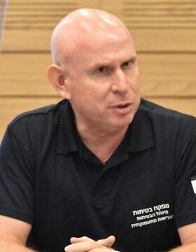 חזי שוורצמן ראש מנהל בטיחות במשרד העבודה