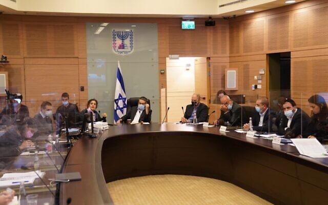 ישיבת ועדת הכספים (צילום: דני שם טוב, דוברות הכנסת)