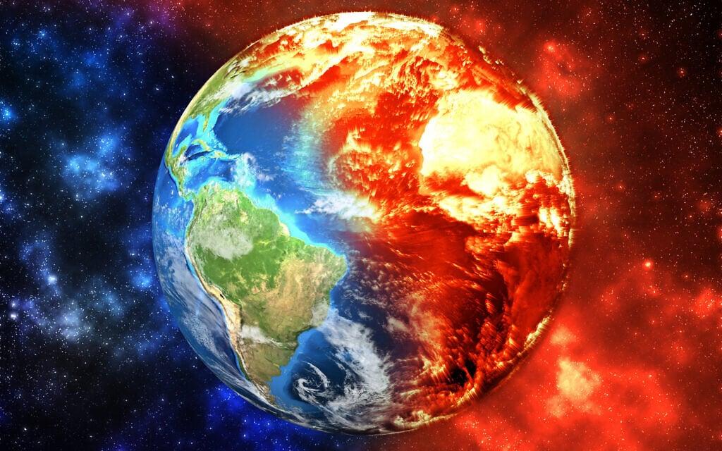 התחממות גלובלית, אילוסטרציה (צילום: Ekaterina_Simonova iStock)