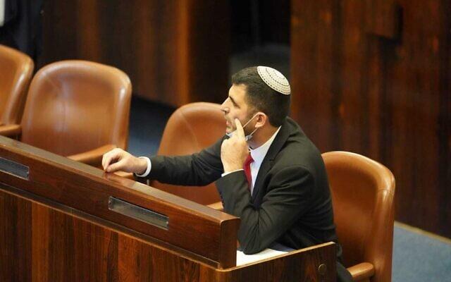 """ח""""כ שלמה קרעי, 4.11.2020 (צילום: דני שם טוב, דוברות הכנסת)"""