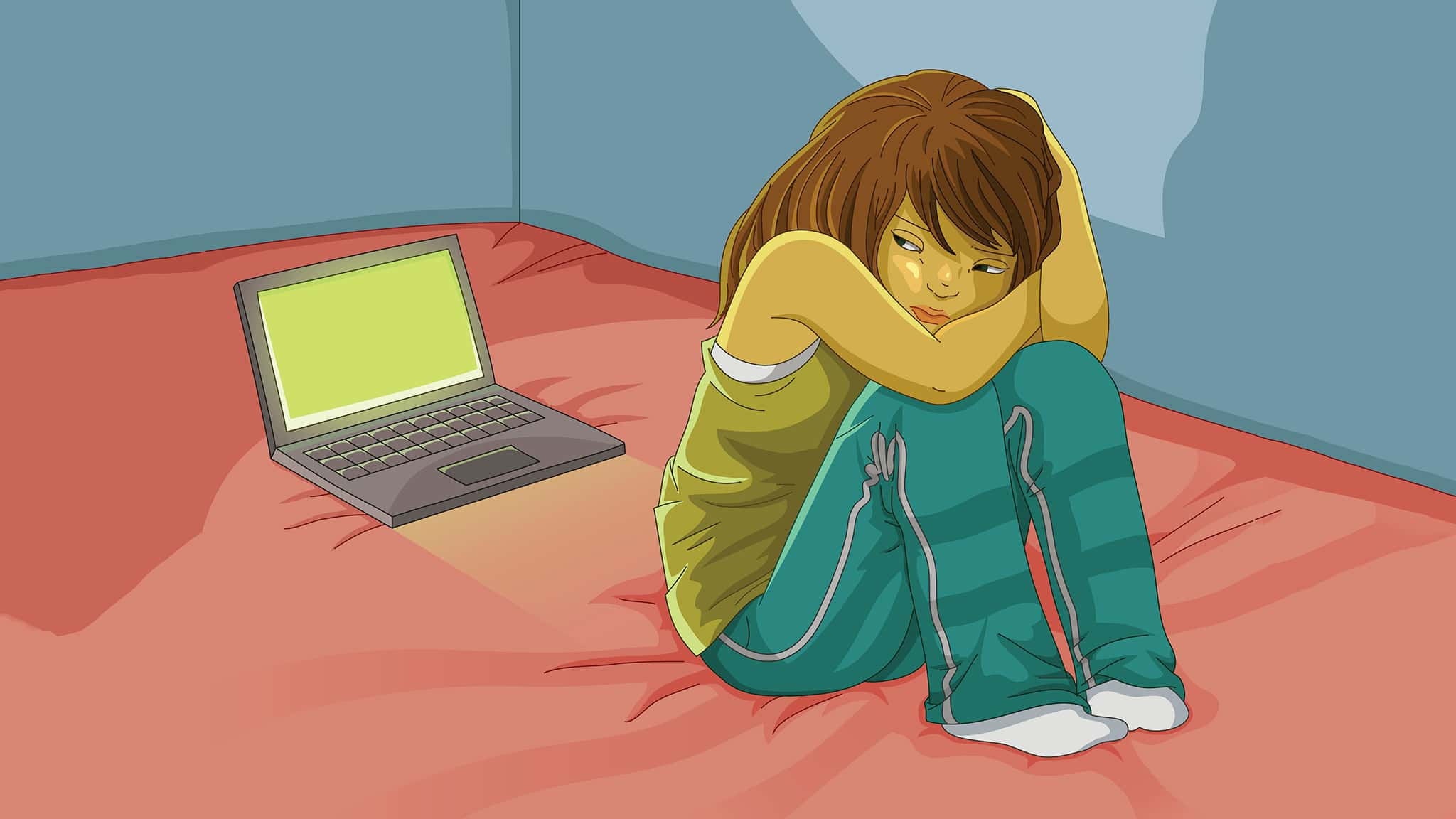 שיימניג נערות ברשת. אילוסטרציה (צילום: Ayelet Keshet/iStock)