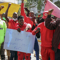 Kenya Uganda Bobi Wine (צילום: AP images)