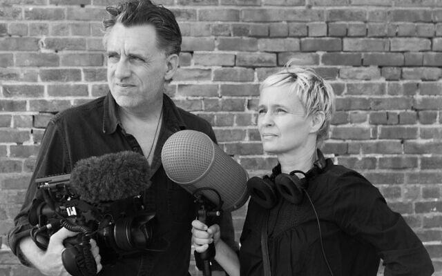 הבמאים פטרה אפרליין ומייקל טאקר (צילום: Tim Freccia)