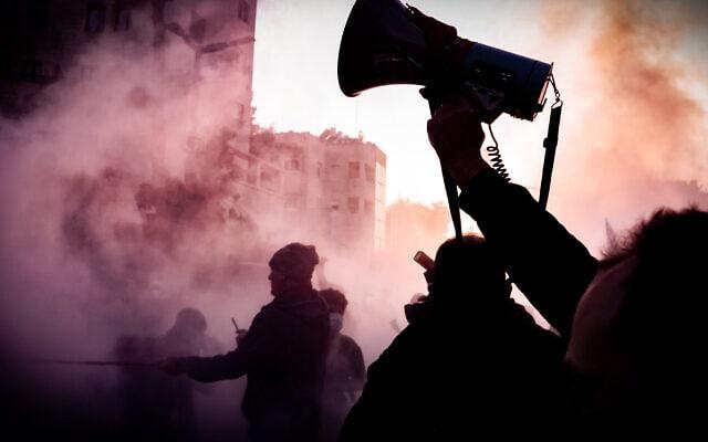 המצור הרביעי על בלפור, 26 בדצמבר 2020 (צילום: עידו רז)
