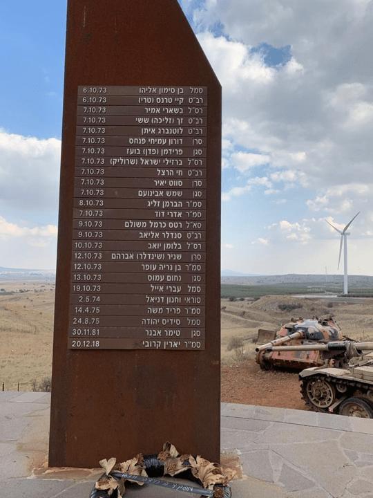 אנדרטת גדוד עז 77, עמק הבכא