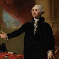 דיוקן של ג'ורג' וושינגטון, 1796. ציור: גילברט סטיוארט