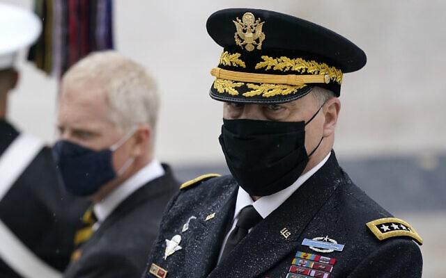 יושב ראש המטות המשולבים, הגנרל מארק מילי (צילום: AP Photo/Patrick Semansky)