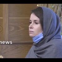 קיילי מור-גילברט (צילום: Iranian State Television via AP)