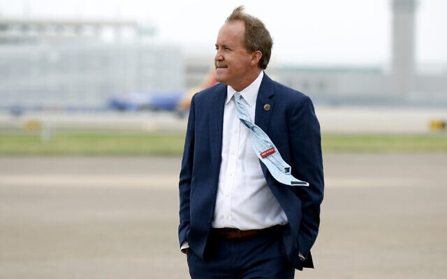 התובע הכללי של טקסס, קן פאקסטון (צילום: AP Photo/Tony Gutierrez)