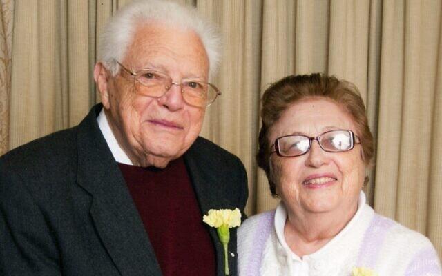 ורה טמקינה-דרון ואנטולי דווידוביץ' דרון (צילום: באדיבות המשפחה)