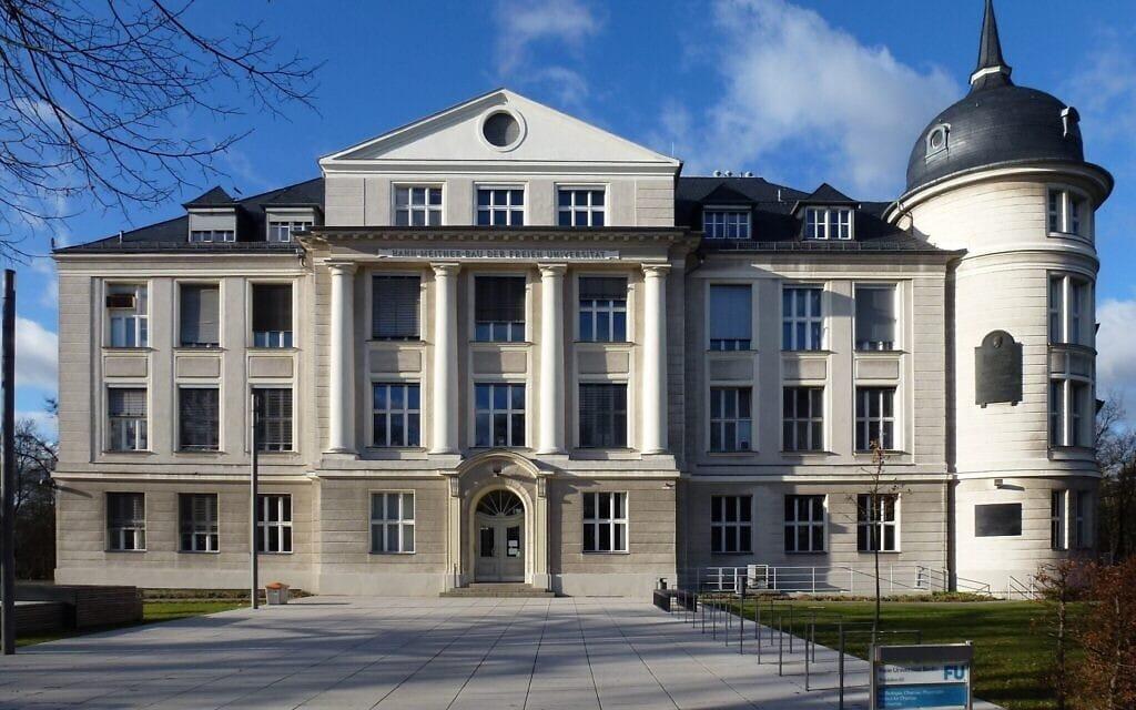 מכון קייזר וילהלם לכימיה לשעבר בברלין. המבנה ניזוק בצורה קשה במלחמת העולם השנייה. הוא שוחזר והפך לחלק מהאוניברסיטה החופשית בברלין ב-1948. ב-1956 הוא קיבל את השם בניין אוטו האן, וב-2010 שונה שמו לבניין האן-מייטנר (צילום: Fridolin freudenfett via WikimediaCommons))