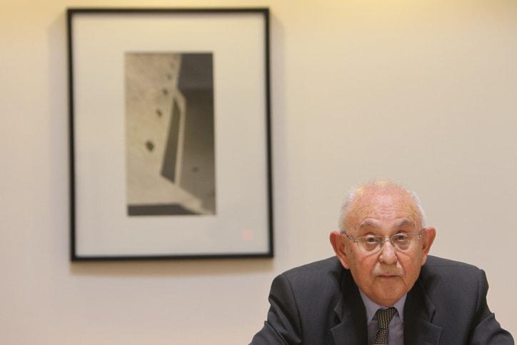 שופט בית המשפט העליון בדימוס אליעזר גולדברג (צילום: מרים אלסטר, פלאש 90)