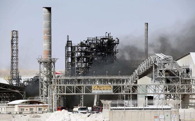 מפעל של רותם אמפרט סמוך לדימונה (צילום: Talucho/Flash90)