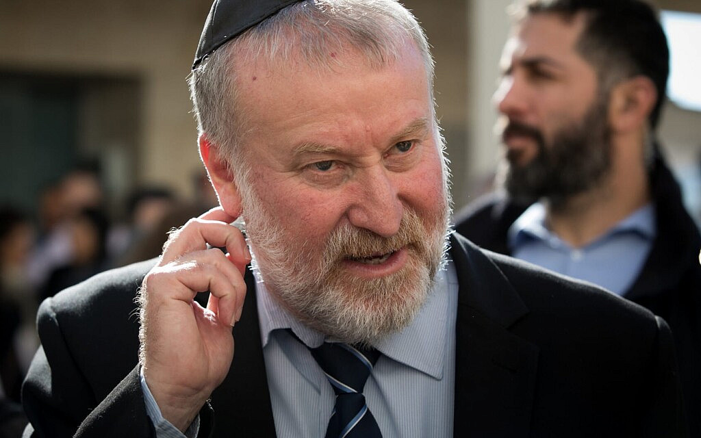 היועץ המשפטי לממשלה אביחי מנדלבליט (צילום: אוליבייה פיטוסי/פלאש90)