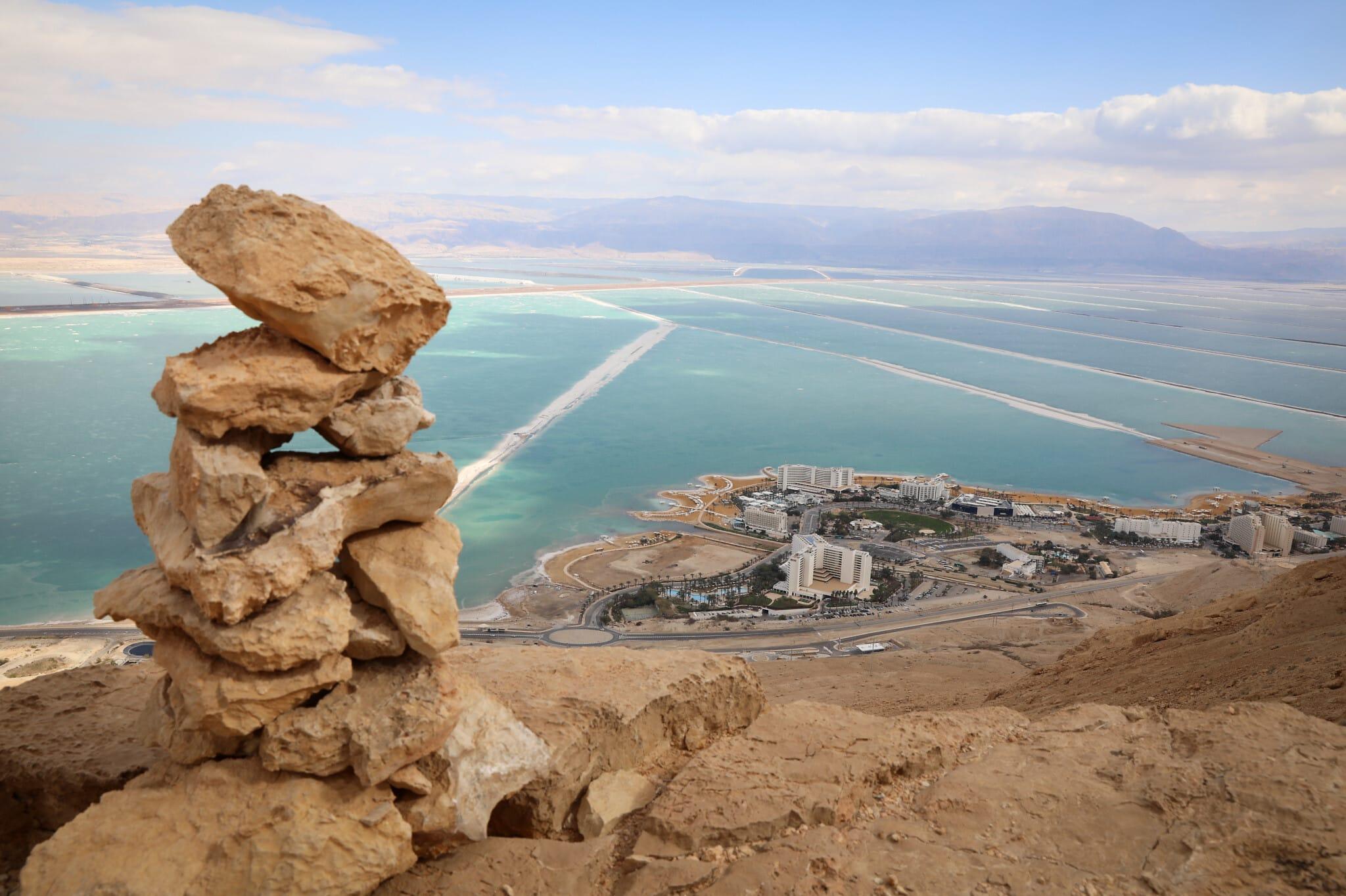מבט על ים המלח (צילום: Yossi Zamir/FLASH90)