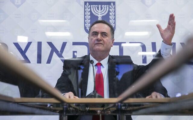 שר האוצר, ישראל כ״ץ (צילום: Olivier Fitoussi/Flash90)
