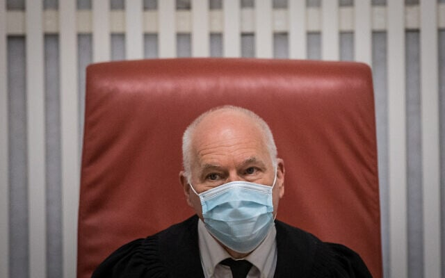 שופט בית המשפט העליון עוזי פוגלמן (צילום: יונתן זינדל/פלאש90)