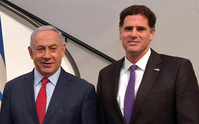 """רון דרמר ובנימין נתניהו במעון ראש הממשלה בירושלים, 20 בספטמבר 2019 (צילום: קובי גדעון/לע""""מ)"""