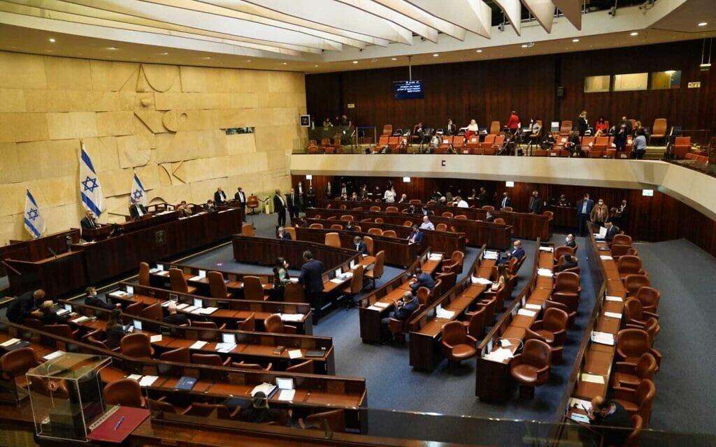 מליאת הכנסת, 2 בדצמבר 2020 (צילום: דני שם טוב, דוברות הכנסת)