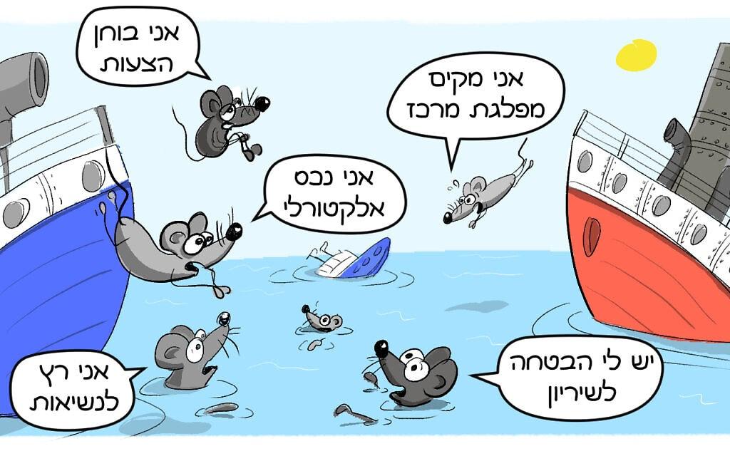 קריקטורה: רועי פרידלר