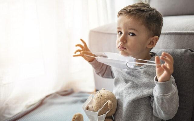 אילוסטרציה. מצוקת ילדים בתקופת הקורונה (צילום: iStock)