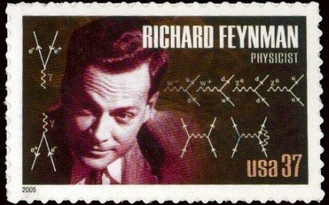 הבול של ריצ'רד פיינמן