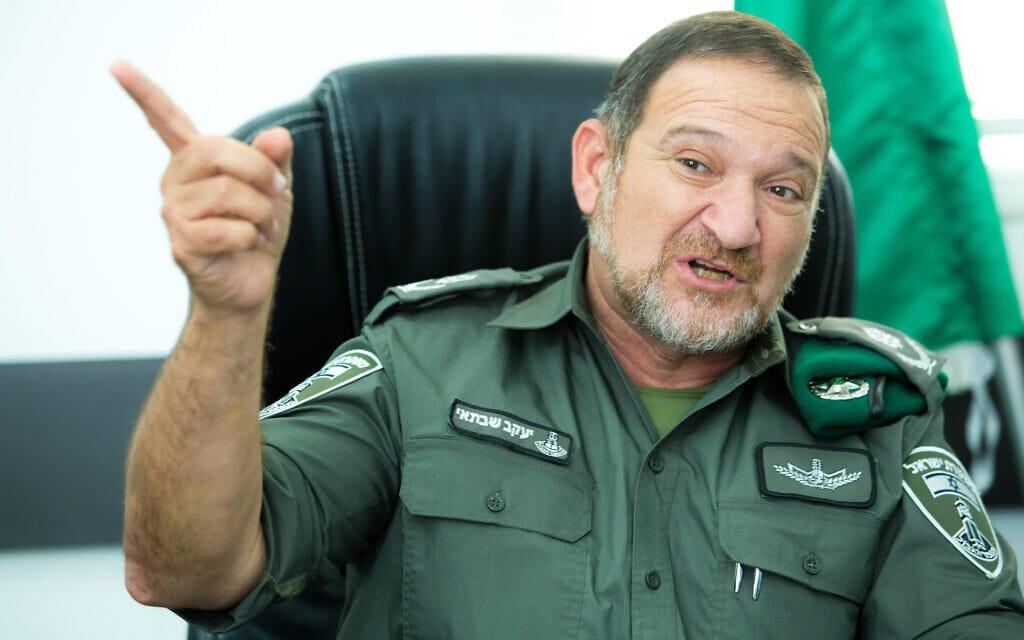 """קובי שבתאי, מפקד מג""""ב ומועמד למפכ""""ל המשטרה (צילום: משה שי, פלאש 90)"""