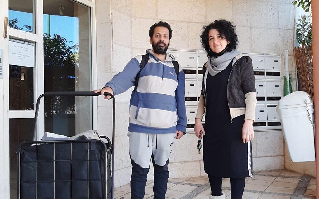 אמה בביוב ולירון כהן (צילום: עומר שרביט)