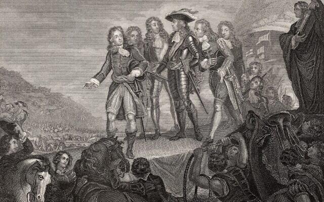 ויליאם, הנסיך מאורנג', מגיע לאנגליה במהפכה המהוללת, 4 בנובמבר 1688 (צילום: Alamy)