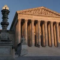 בית המשפט העליון בארה״ב (צילום: AP Photo/J. Scott Applewhite)