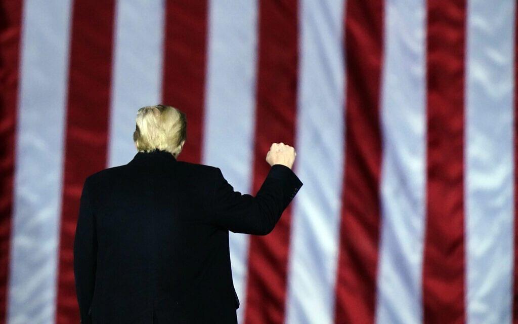 דונלד טראמפ, ינואר 2021 (צילום: AP Photo/Brynn Anderson)