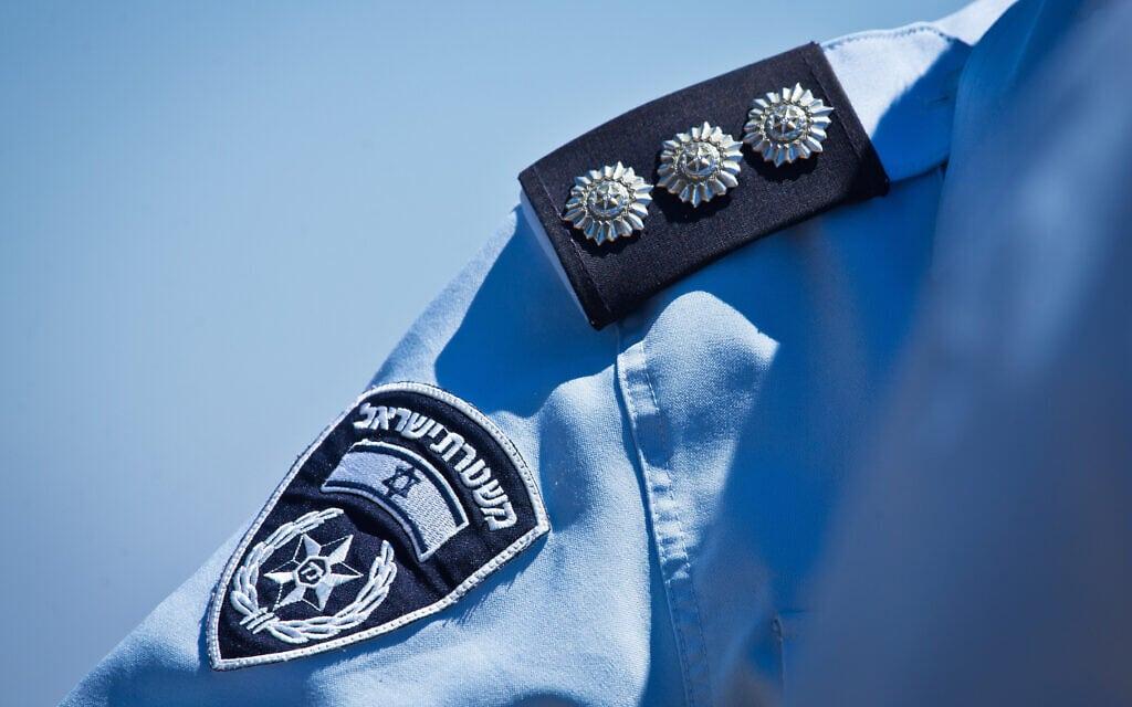 קצין במשטרת ישראל. אילוסטרציה (צילום: משה שי/פלאש90)