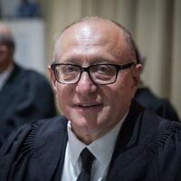 שופט בית המשפט העליון אלכס שטיין (צילום: הדס פרוש/פלאש90)