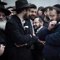 הלווייתם של תמר ויהודה כדורי בהר המנוחות בירושלים, 14 בינואר 2019 (צילום: נעם, ריבקין פנטון, פלאש 90)