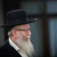 יעקב ליצמן (צילום: יונתן זינדל/פלאש90)