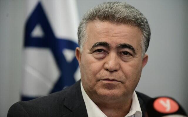 עמיר פרץ בתל אביב, 12 במרץ 2020 (צילום: תומר נויברג, פלאש 90)