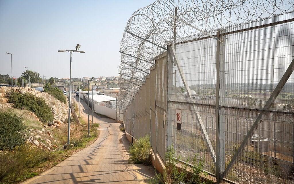 כלא חרמון, 29 בנובמבר 2020 (צילום: דוד כהן, פלאש 90)