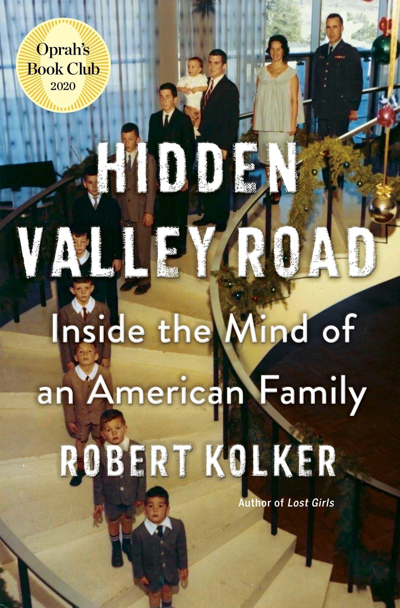 עטיפת ספרו של רוברט קולקר, Hidden Valley Road (צילום: Doubleday)