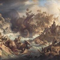 קרב סלמיס. ציור משנת 1868 מאת וילהלם פון קאולבאך, מתוך ויקיפדיה