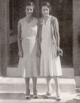 האחיות מרגרט ומוד קאהן (צילום: רשות הציבור)