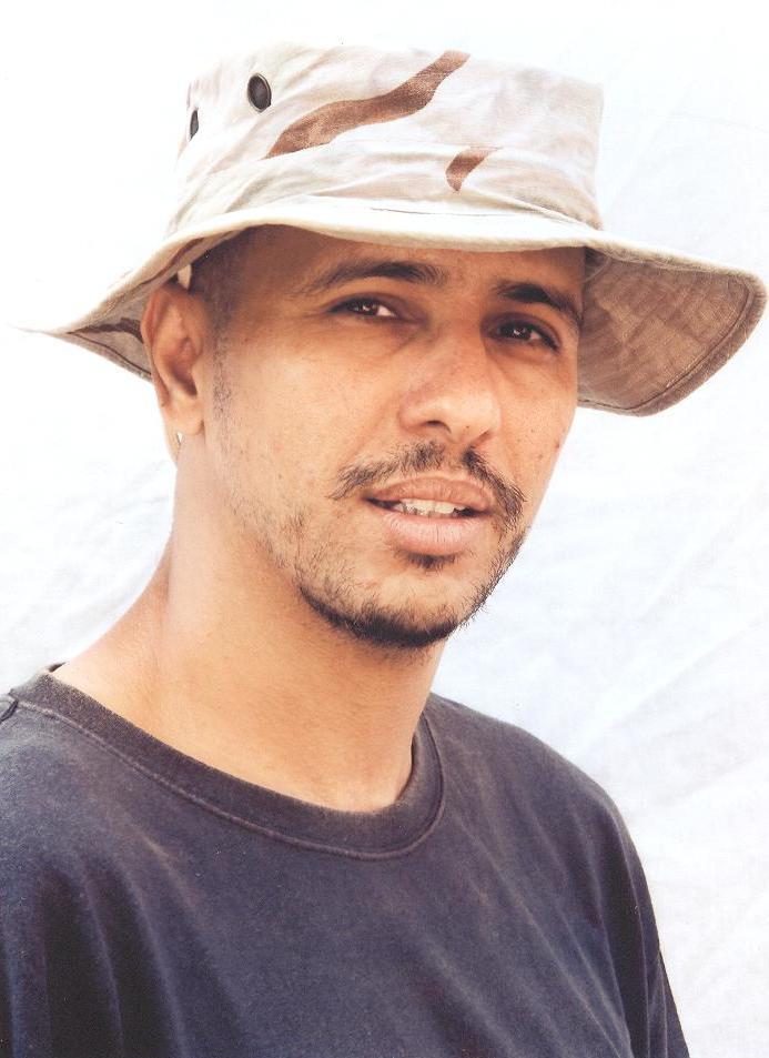 מוחמדו אולד סלאחי (צילום: International Committee of the Red Cross)