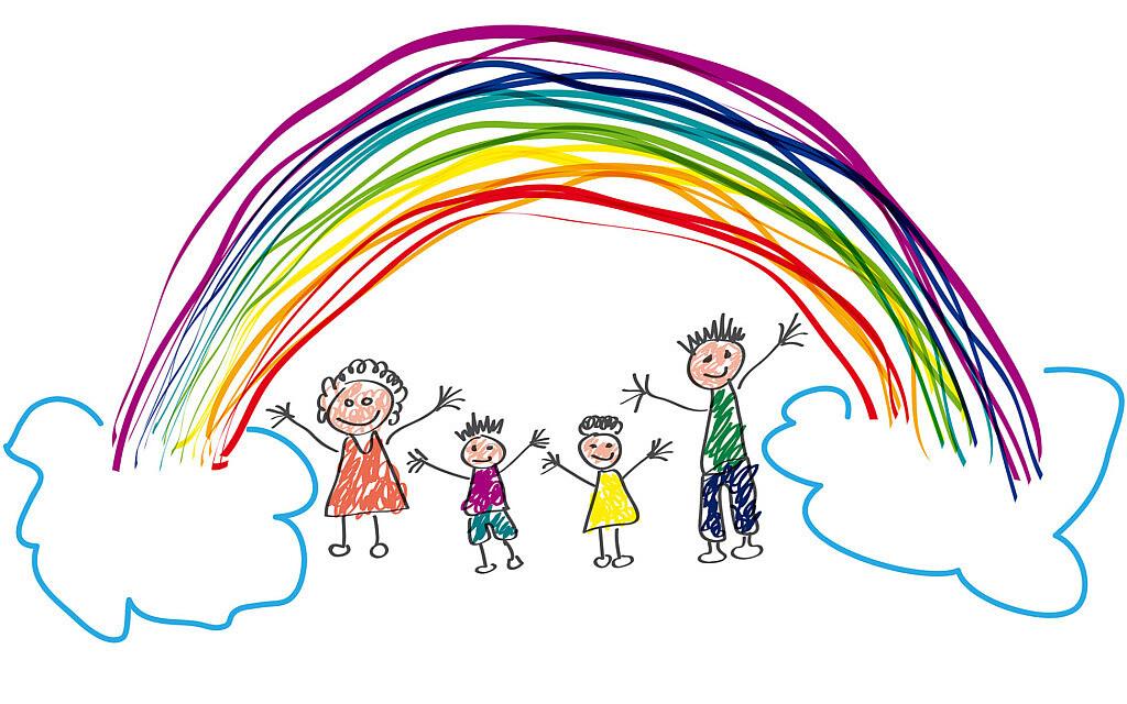 משפחה מאושרת. אילוסטרציה (צילום: iStock)