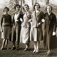 חמש מששת האחיות מיטפורד (צילום: ויקיפדיה)