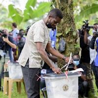 Uganda Election (צילום: AP Photo/Nicholas Bamulanzeki)
