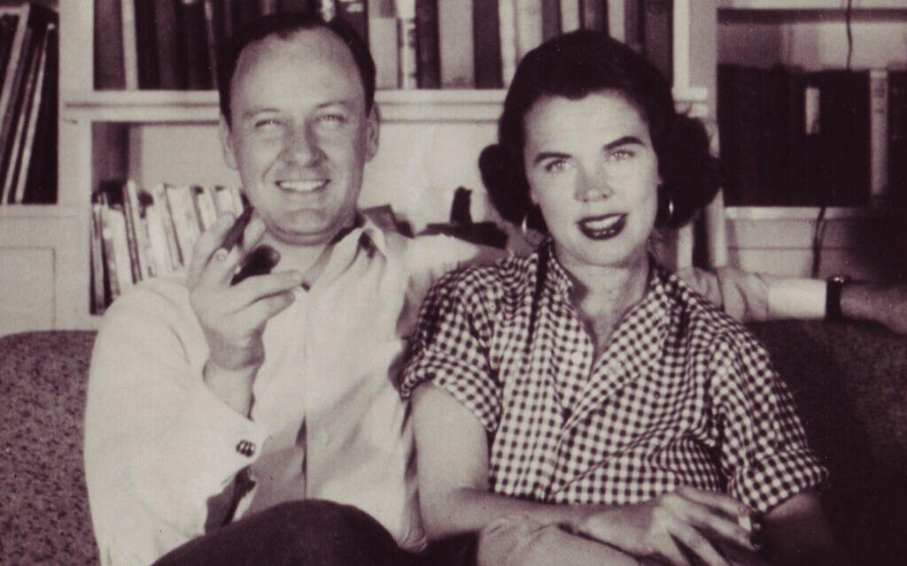 ג'ואן וסטן לי בשנות ה-40 (צילום: Courtesy of the Stan Lee Papers, Box #177, American Heritage Center, University of Wyoming)