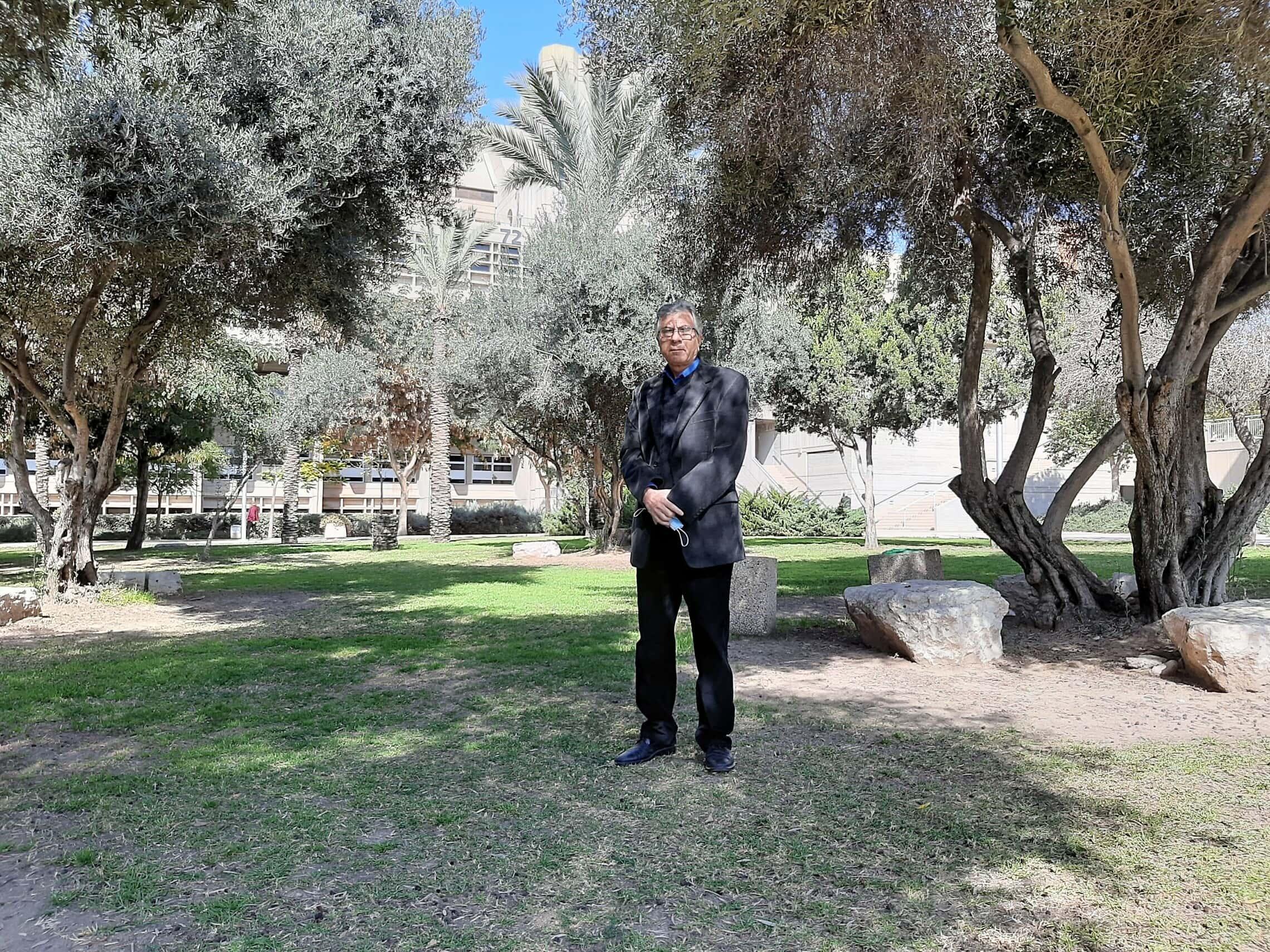 פרופ' עליאן אלקרינאוי (צילום: עומר שרביט)