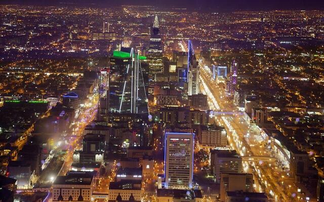 מבט אווירי על העיר ריאד, ערב הסעודית (צילום: AP Photo/Amr Nabil)